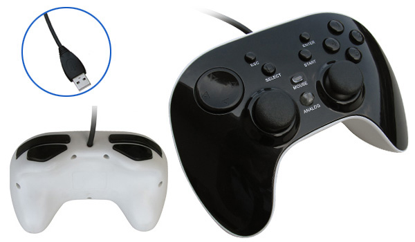 USB Gamepad with Advanced Programmable Driver